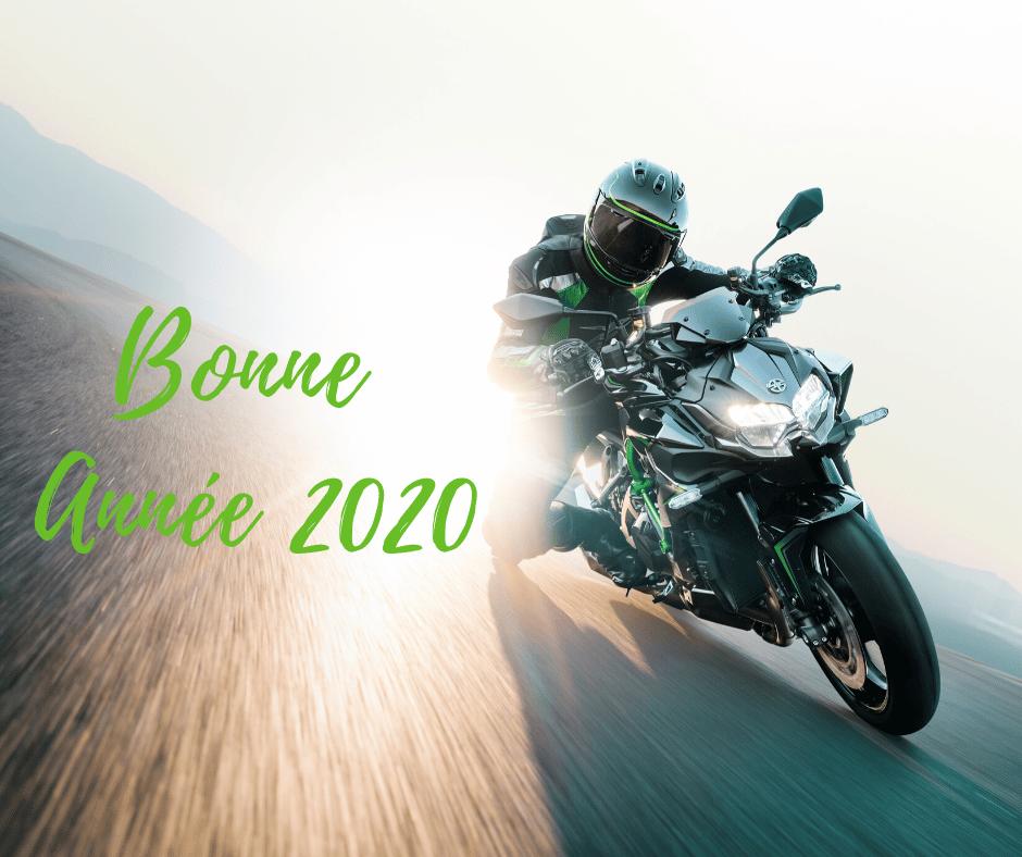 Bonne année 2020 Kawasaki